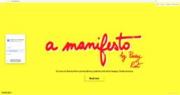 WeTransfer Manifesto by Pussy Riot